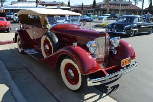 1934 Packard 1100 Dietrich Convertible IX by Brooklyn47