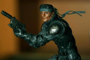 Solid Snake Detail by michaelbitoy