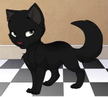 meh kitty by catgirl-23