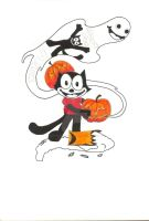 Felix The Cat's Halloween! Root For Felix by Night-Truth