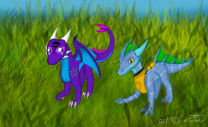 Let's Walk with Zap by ZomaTheDragon