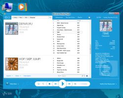 Project MetroUI III - Windows Media Player 13 by SatouKenta