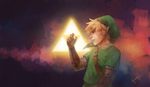 Wielder of the Triforce by DPremonition