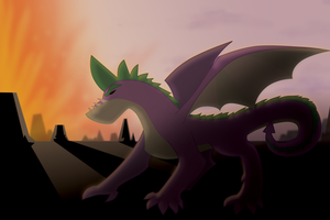 Spikey Craggy by professor-ponyarity