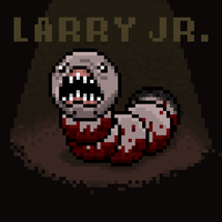 The 8-bit of Isaac: Larry Jr. by megablast