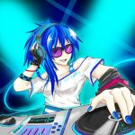 Vinyl Scratch - Spin that record by Evurinn