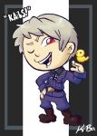 Hetalia Prussia Art Card by kevinbolk