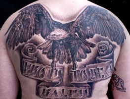 eagle backpiece by tat2istcecil