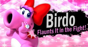 Birdo SSB4 Request by Elemental-Aura
