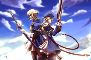 BlazBlue: Blue Sky by digitalninja