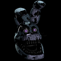 not sad nightmare bonnie by Mistberg