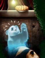 The Last Temptation of Panda by aguijon