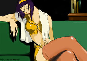 Faye Valentine 5 color by Fayeuh