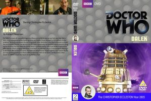 Doctor Who Dalek Classic Cover by HaddonArt