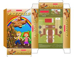 pretzels packaging by mankiphoto
