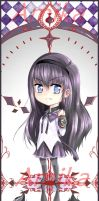 Homura Bookmark by AmikaMangaka
