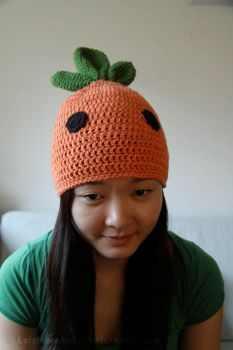 Cutie Carrot Hat by k0rpanda