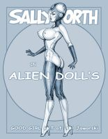 SALLY FORTH in Alien Doll's 2 by GOODGIRLART