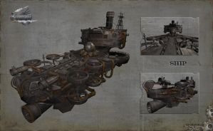 air ship by Or1s