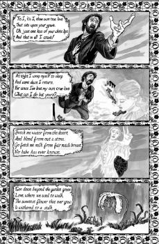 The Unquiet Grave pg 2 by tedwoodsart