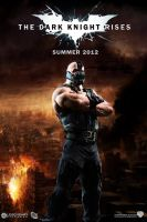 The Dark Knight Rises movie poster - Bane by DComp