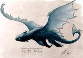Toothless by gph-artist