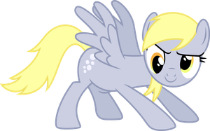 Psyched Derpy by ChainChomp2