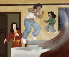 The trouble with Korra by JoGoNeXX