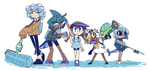 wadanohara and the great blue turf war by GrumpyBuneary