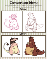 Team Scrappy - Comparison Meme by CrazyRatty