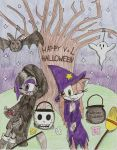 Lara and Violet Halloween :AT: by TatsuoMizushima