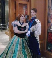 Princess Anna and Hans - Anime Boston 2014 by DantesTobari