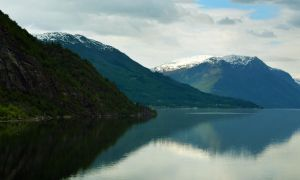 Sailing the fjords to Skjolden 42 by abelamario