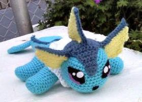 Puakai the Vaporeon by ArtisansShadow