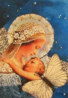 Madonna of The Transfiguration by KanchanCollage