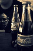 Godfather likes Cola. by Poopsnake