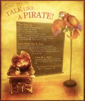 How To Talk Like a Pirate by ovibos