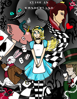 Fairy Tales: ALICE IN WONDERLAND by pipe07