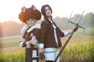 Mukuro and Fran - Katekyo hitman reborn by Morgana-Moon
