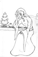 WIP - I'll Be Alone for XMas by alswaiter