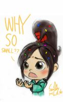 WHY SO SMALL - Vanellope by summilly