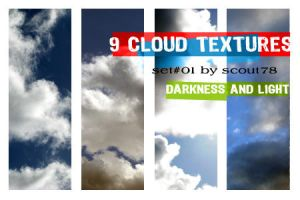 cloud textures - set 1 by scout78