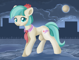 Regular Pony Drawing #14 - Coco Pommel by XDuskStarX