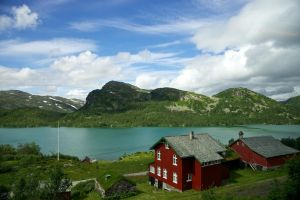 From the train to Bergen by Vironevaeh