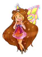 Winx - Flora enchantix by Andi-Tiucs