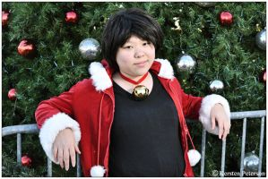 DRRR: Chilling In My Christmas Hoodie by CosplayerWithCamera