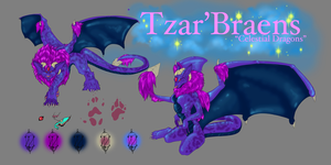 Tzar'Braens Adoptable by ElysianImagery