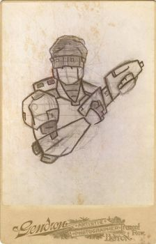 'Antique Bionicle Cards': Ace by Zahaki