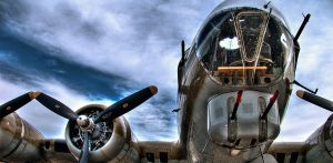 B-17 Flying Fortress by mrdectol