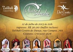 Bellydance festival poster by Bebecca